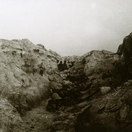 After the attack, Rozieres, France, c1914-c1918-Unknown-Photographic Print