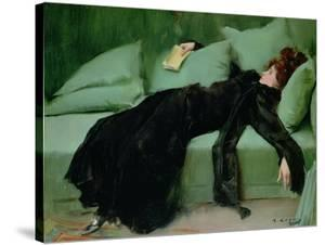 After the ball' by Ramon Casas, 1895