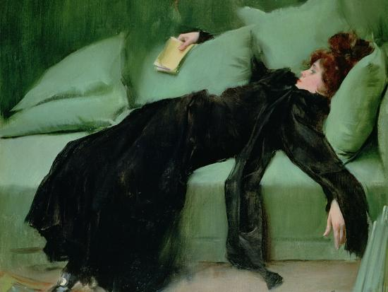 After the Ball-Ramon Casas i Carbo-Premium Giclee Print