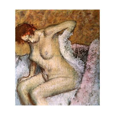 After the Bath, 1889-Edgar Degas-Giclee Print