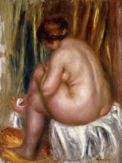 After the Bath (Nude Study)-Pierre-Auguste Renoir-Giclee Print