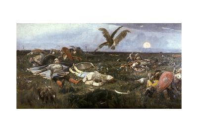 After the Battle Between Prince Igor Svyatoslavich of Kiev and the Polovtsy, 1880-Victor Mikhailovich Vasnetsov-Giclee Print