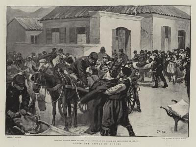 After the Battle of Domoko--Giclee Print
