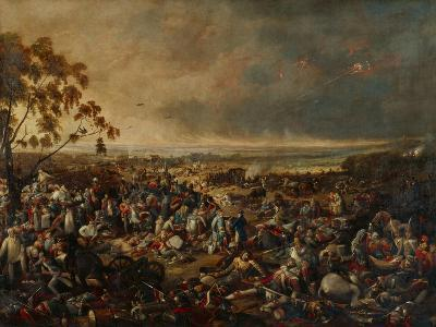After the Battle of Waterloo, on 18 June 1815, 1820-William Heath-Giclee Print