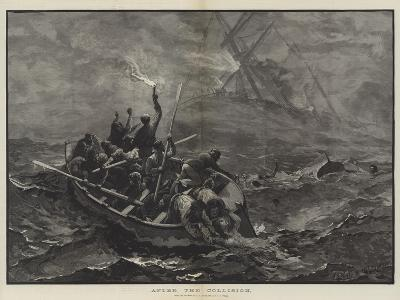 After the Collision-Charles Joseph Staniland-Giclee Print
