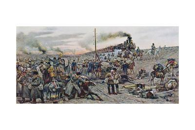 After the Fighting at Mukden, 1907--Giclee Print