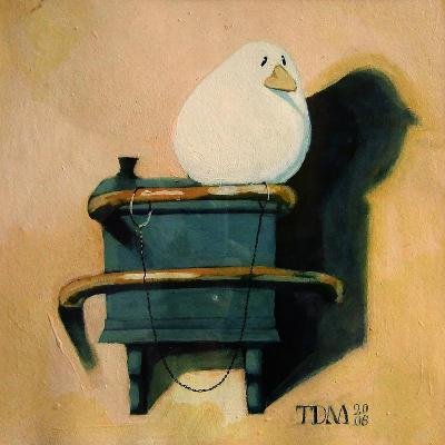 After the Goldfinch-Thomas MacGregor-Giclee Print