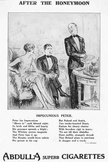 'After the Honeymoon - ''Impecunious Peter', 1927-Unknown-Giclee Print