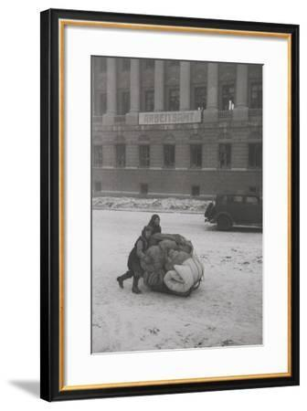 After the Liberation of Rostov-On-Don, February 1943--Framed Photographic Print