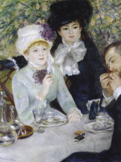 After the Luncheon (La Fin Du Déjeuner), 1879-Pierre-Auguste Renoir-Giclee Print
