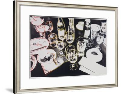 After the Party, c.1979-Andy Warhol-Framed Giclee Print