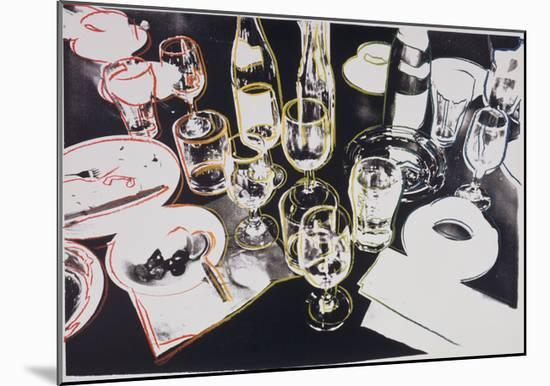 After the Party, c.1979-Andy Warhol-Mounted Giclee Print
