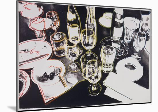 After the Party, c.1979-Andy Warhol-Mounted Print