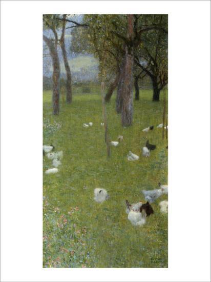 After the Rain-Gustav Klimt-Giclee Print