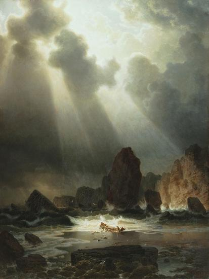 After the Storm, 1855-Johannes Cordes-Giclee Print