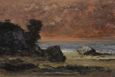 After the Storm, 1872-Gustave Courbet-Giclee Print