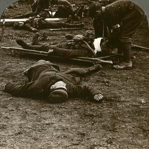 After the Storm and Stress of Battle, Caring for the Wounded, World War I, 1914-1918