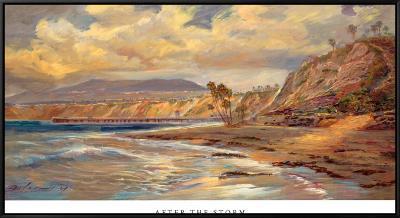 After the Storm-Rick Delanty-Framed Canvas Print