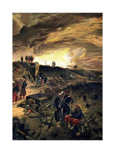 After the Taking of Malakoff on 8th September 1855, C1855-William Simpson-Giclee Print