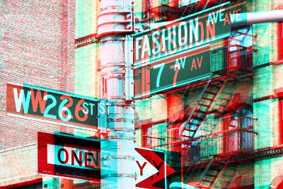 After Twitch NYC - Fashion Avenue-Philippe Hugonnard-Photographic Print
