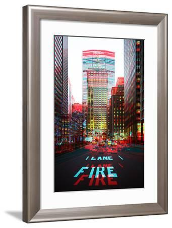 After Twitch NYC - Fire Lane-Philippe Hugonnard-Framed Photographic Print