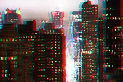 After Twitch NYC - Fog New York-Philippe Hugonnard-Photographic Print