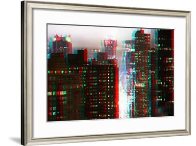 After Twitch NYC - Fog New York-Philippe Hugonnard-Framed Photographic Print