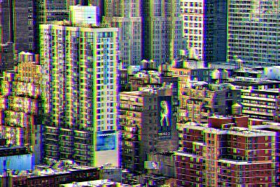 After Twitch NYC - Manhattan Buildings-Philippe Hugonnard-Photographic Print