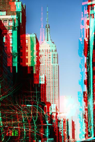 After Twitch NYC - Manhattan Winter-Philippe Hugonnard-Photographic Print