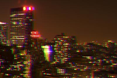After Twitch NYC - Red Night-Philippe Hugonnard-Photographic Print