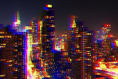 After Twitch NYC - Towers Night-Philippe Hugonnard-Photographic Print