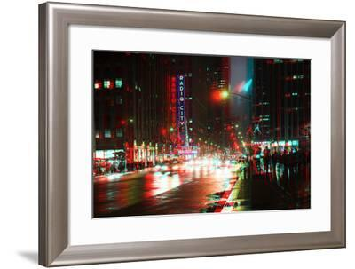 After Twitch NYC - Urban City-Philippe Hugonnard-Framed Photographic Print