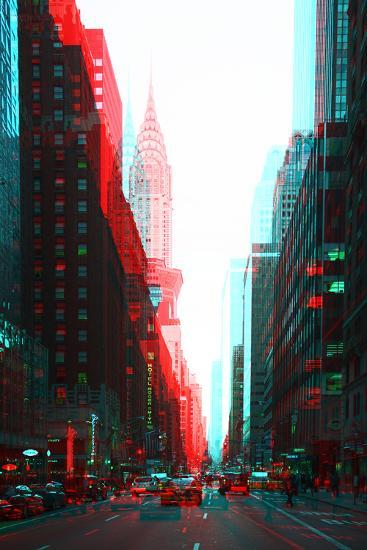 After Twitch NYC - Urban Traffic-Philippe Hugonnard-Photographic Print