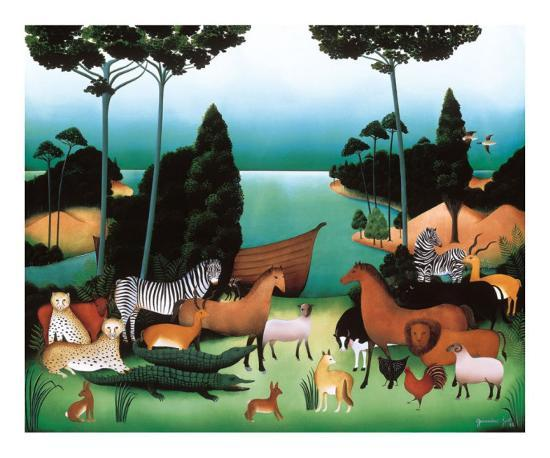 After Us, the Flood-Genevi?ve Jost-Art Print
