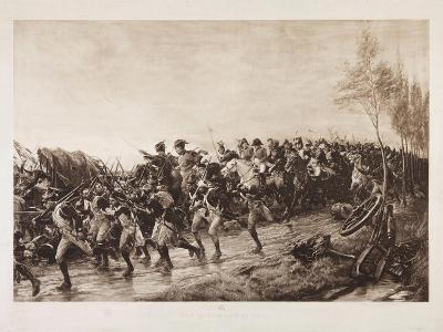 After Waterloo: Every Man for Himself, 1890-Andrew Carrick Gow-Giclee Print