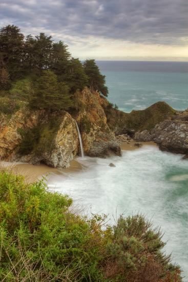 Afternoon at McWay Falls-Vincent James-Photographic Print