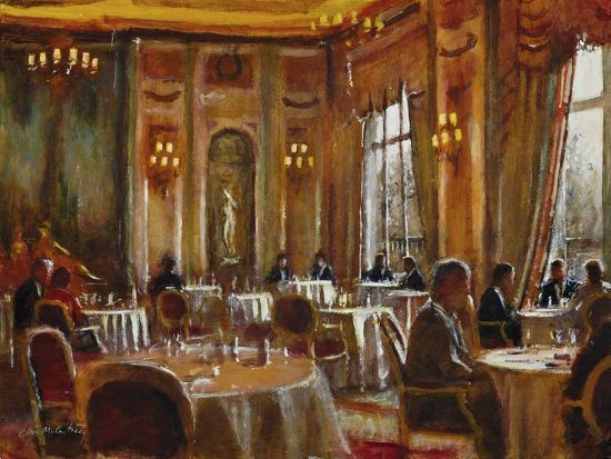 Afternoon at The Ritz-Clive McCartney-Giclee Print