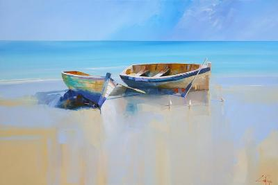 Afternoon Gulls-Craig Trewin Penny-Art Print