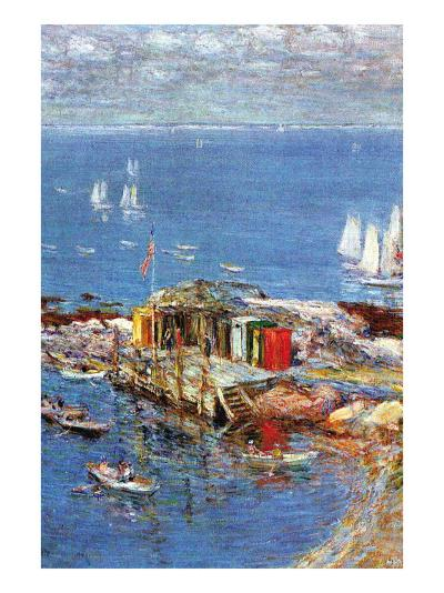 Afternoon In August-Childe Hassam-Art Print