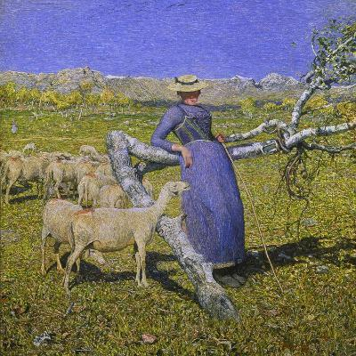 Afternoon in the Alps, 1892-Giovanni Segantini-Giclee Print