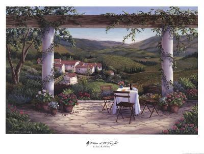 Afternoon in the Vineyard-Barbara Felisky-Art Print
