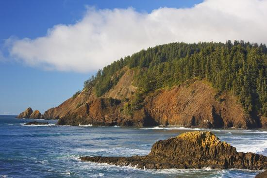 Afternoon Light Along Short Beach And Indian Ecola State Park Oregon Coast Photographic Print By Craig Tuttle Art