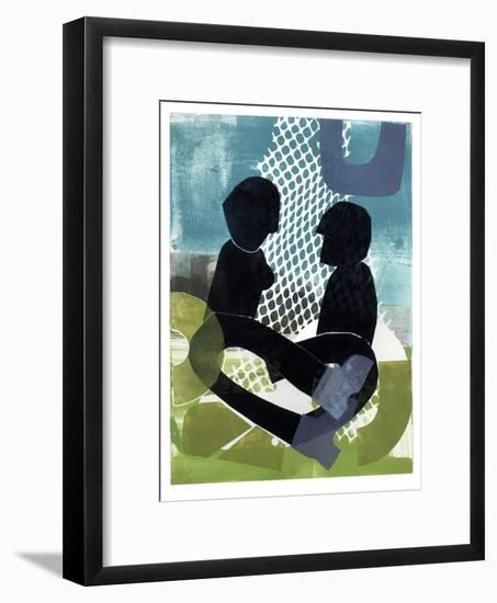Afternoon Picnic-Stacy Milrany-Framed Art Print