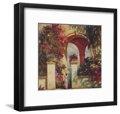 Afternoon Stroll-V^ Dolgov-Framed Art Print