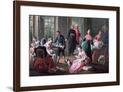 Afternoon Tea, 1778-Jan Garemijn-Framed Giclee Print