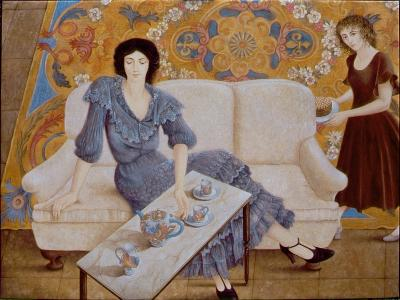 Afternoon Tea-Patricia O'Brien-Giclee Print