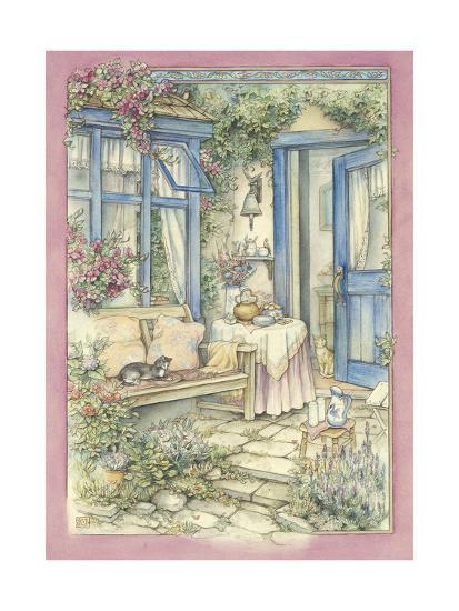Afternoon Tea-Kim Jacobs-Giclee Print