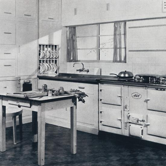 Aga Heat Ltd. The Model F Aga Cooker (for a large house)-Unknown-Photographic Print