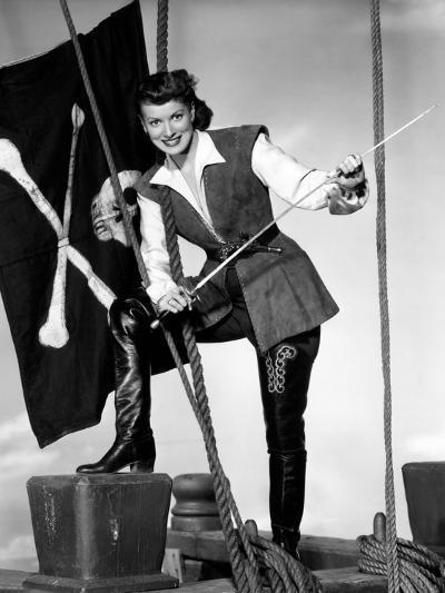 Against All Flags, Maureen O'Hara, 1952--Photo