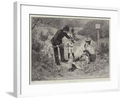 Against the Rules--Framed Giclee Print